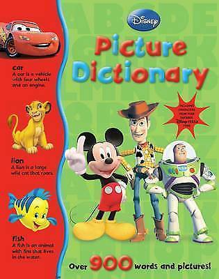 Disney My Picture Dictionary, Parragon Books, Very Good Book