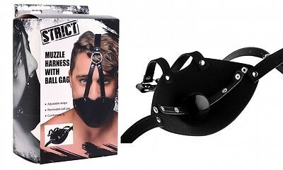 Strict -  Gesichtsmaske Face Harness, verstellbares Mundgeschirr