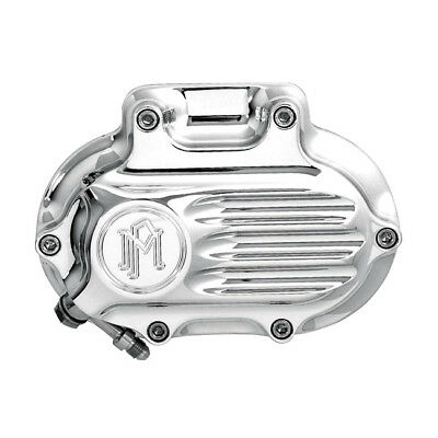 PM Chrome Contour Clutch Housing For Harley-Davidson 6 Speed Big Twins