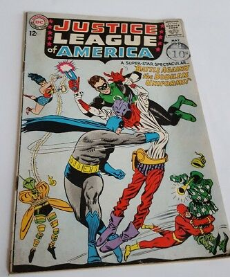 DC Comics. Justice League of America #35 Silver Age