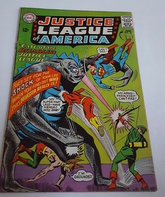 DC Comics. Justice League of America #36 Silver Age