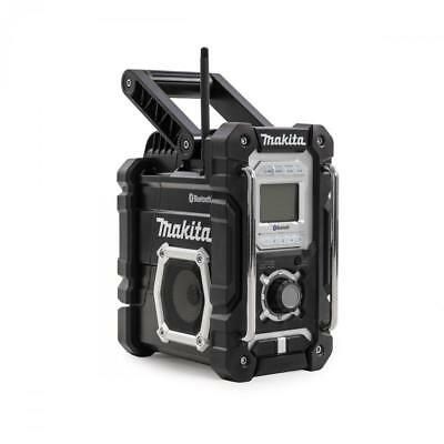 Makita Dmr106 Jobsite Radio With Bluetooth And Usb Charger Black Edition New