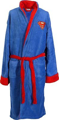 Superman Adult Fleece Robe, Dressing Gown :The Official Argos Store