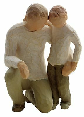 Willow Tree Father and Son Figurine. From the Official Argos Shop on ebay