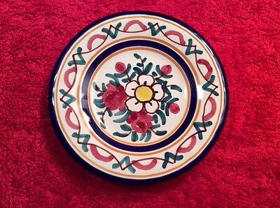 Pretty Antique French Faience Butter Pat, ff333  GREAT GIFT IDEA!!
