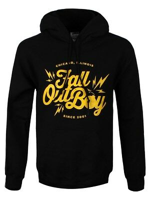 Fall Out Boy Bomb Pullover Men's Black FOB Hoodie