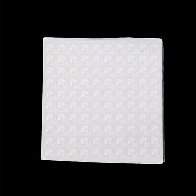 100Pcs Self Adhesive Silicone Feet Bumpers Door Cupboard Drawer Cabinet Kitchen