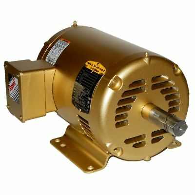 Baldor 3 Hp 1800 Rpm Odp 416 Volts 182T 3 Phase Motor 36G548T513 New Surplus