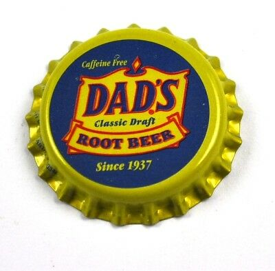 Vintage Dad's Classic Draft Root Beer Kronkorken USA Soda Bottle Cap
