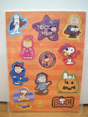 Peanuts Snoopy Halloween Magnet Set of 12 MIP