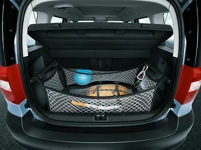 Skoda Yeti PA 5 Piece Netting System - Cars without False Boot Floor (DMA630003)