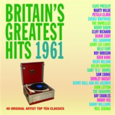 Various Artists-Britiain's Greatest Hits 1961  (UK IMPORT)  CD NEW