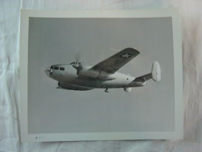 Vintage Press Photo WWII Fairchild AT-14 Bombardier US Army Airplane 804