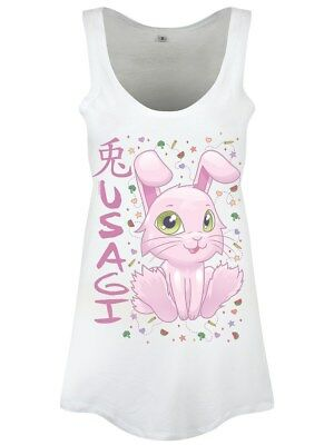 Animémals Usagi Women's Floaty White Vest
