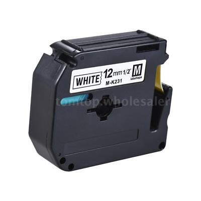 Compatible for Brother PT-65/PT-70/PT-80 Label Printer Label Tape Tag 12mm E0P5