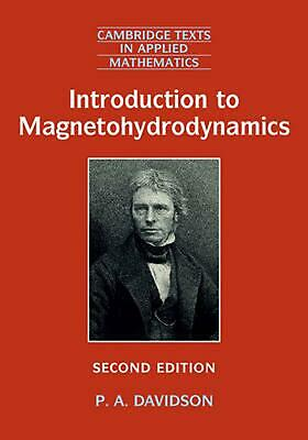 Introduction to Magnetohydrodynamics by P.A. Davidson Hardcover Book Free Shippi