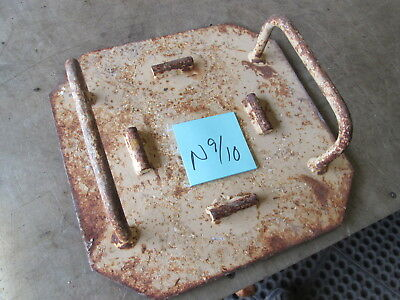 "Used Jack Plate, 12"" x 12"" for Military Jack or Stabilizer for Equipment"