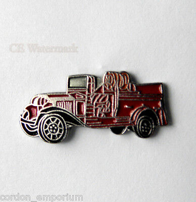 United States Fire Fighter 1931 Fire Engine Pin Badge 3/4 Inch