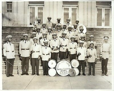 African American Fraternal Band~Vintage Richmond VA Photo by Black Photographer