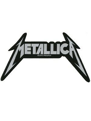 Metallica Shaped Logo Patch - NEW & OFFICIAL
