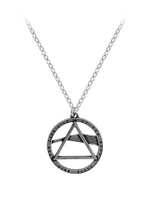 Alchemy Pink Floyd Dark Side Of The Moon Pewter Silver Pendant