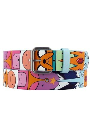 Adventure Time Characters Printed Belt