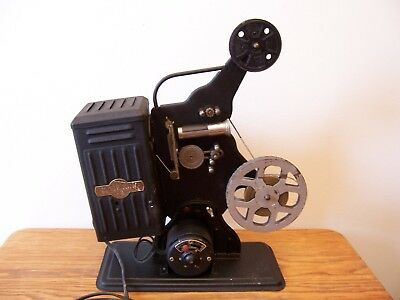 antique 8 mm SILENT MOVIE KING MODEL S8 PROJECTOR or industrial lamp project