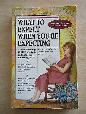 What To Expect WHEN You're Expecting~Heidi Murkoff~SE Hathaway~423pp P/B~2000