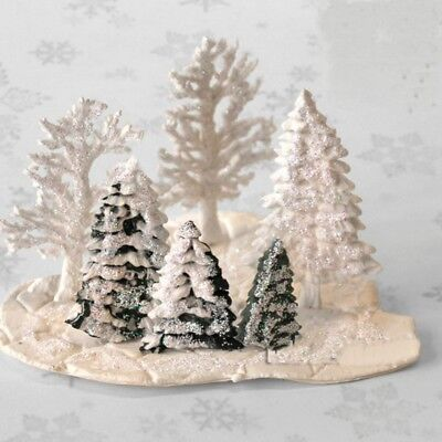 Christmas Tree Silicone Fondant Cake Mold Chocolate Gumpaste Baking DIY Tools