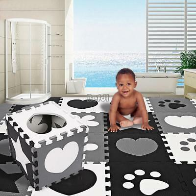 59.1 x 59.1INCH KIDS CRAWLING EDUCATIONAL GAME PLAY SOFT FOAM MAT PICNIC CARPET