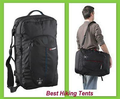 New Caribee Backpack Sky Master 40 Litre Back-Pack Luggage Travel Duffle Bag Blk