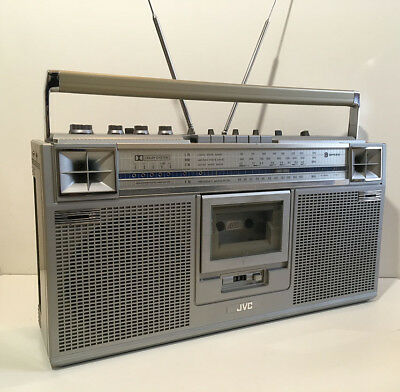 poste radio cassette ghettoblaster philips d8589 an 80 39 s picclick fr. Black Bedroom Furniture Sets. Home Design Ideas