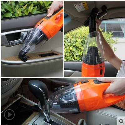 Portable 12V 120W Car Vacuum Cleaner Handheld Wet Dry Dual-use Dust Cleaner 5m