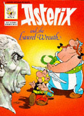 ASTERIX AND THE LAUREL WREATH (#13), Goscinny and Uderzo, Very Good Book