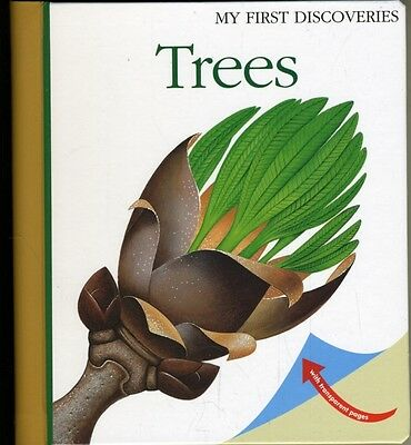 Trees (My First Discoveries Series) (Spiral-bound), Broutin, Chri. 9781851034017
