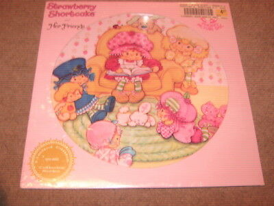 Strawberry Shortcake And Her Friends  Lp  Picture Disc  New/sealed
