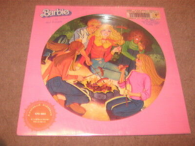 Barbie And Her Friends  Lp  Picture Disc  New/sealed