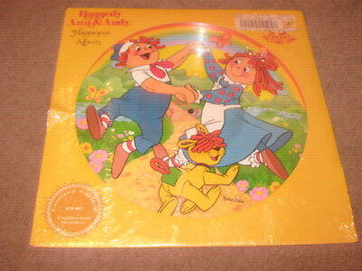 Raggedy Ann & Andy  Happiness Album  Lp  Picture Disc  New/sealed