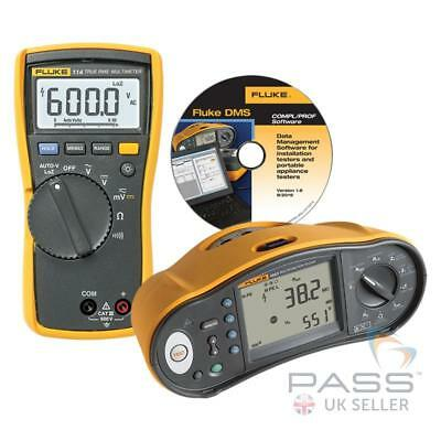 *Exclusive* Fluke 1663 Multifunction Tester w/ FREE Fluke 114 & DMS Software!!