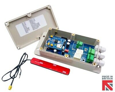 Gsm Grille Ouvre 12v - sans Alimentation Approvisionnement Required - Gb