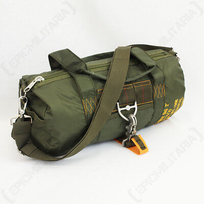Olive Green Para Pilot Bag - Military USAF Army Duffel Holdall Gym Shoulder New