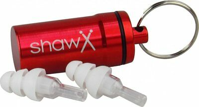 Shaw ER20 Hearing Protection Musicians Pro Ear Plugs