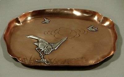 Gorham Sterling Tray      Mixed Metal   1880     JAPANESE MANNER