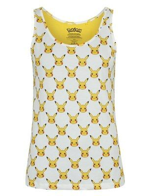 Pokemon Pikachu Repeat Women's Yellow Vest
