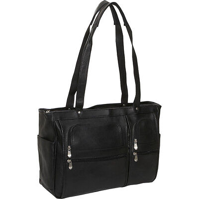 David King & Co. Womens Multipocket Laptop Briefcase - Women's Business Bag NEW