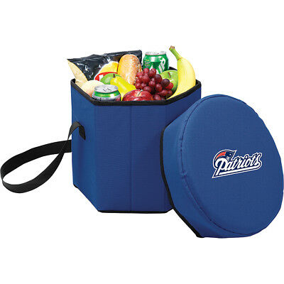 Picnic Time New England Patriots Bongo Cooler - New Outdoor Cooler NEW