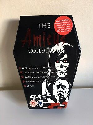 The Amicus Collection 5 DVD Box Set RARE