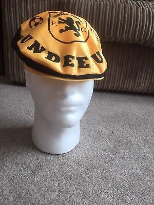 Vintage Dundee Utd Football Supporters Cap/Hat
