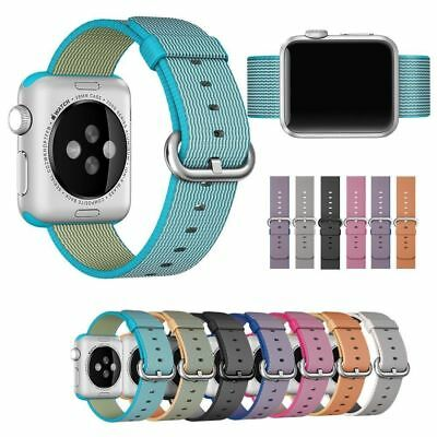 Hot Woven Nylon Watch Bracelet Sports Band Straps for Apple Watch iWatch 38/42mm