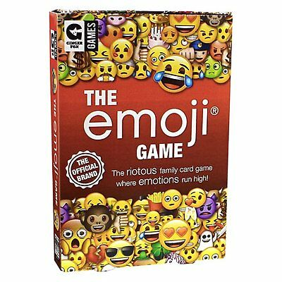 Ginger Fox THE EMOJI GAME Family Card Game 8+
